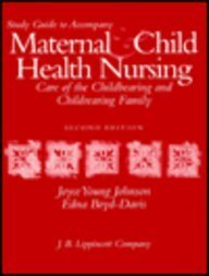 Maternal and Child Health Study Guide