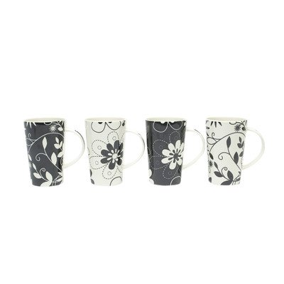 Maxwell & Williams Daisy May 13-Oz. Mug - Set Of 4 - Gift Boxed