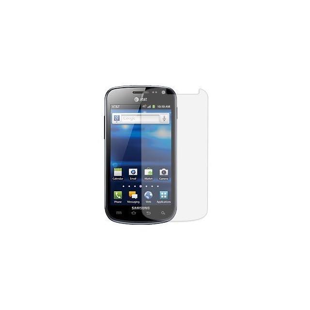 Samsung Galaxy Exhilarate Anti Glare Screen Protector (Samsung SGH i577)