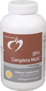 Dfh Complete Multitm With Copper (Iron-Free) 180 Capsules