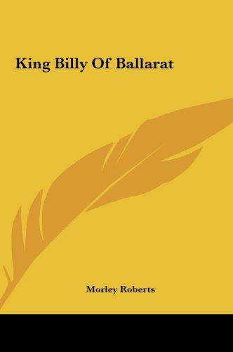 King Billy of Ballarat