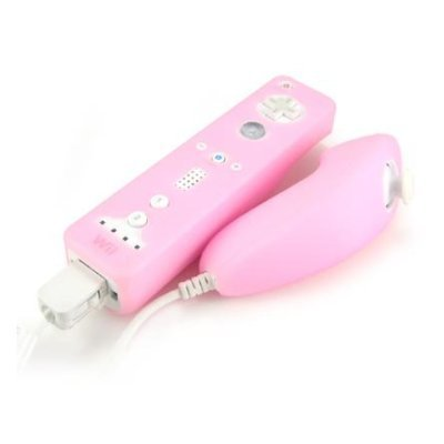Nintendo Wii Remote Case and Nunchuck/Nunchaku Premium Silicone Cover Wiimote Glove Nunchuck Skin 2 Styles 17 Color Options