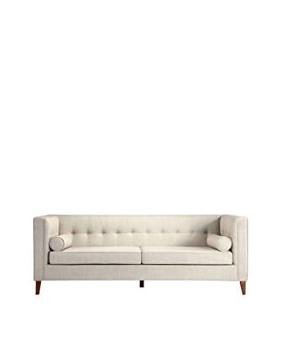 Kardiel Jefferson Mid-Century Modern Sofa, Hemp