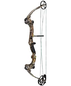 Buy Martin Saber Bow Package 60-Pounds (Camo, Right Hand) by Martin Archery