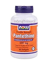 Pantethine 600 mg 60 Softgels by NOW Foods