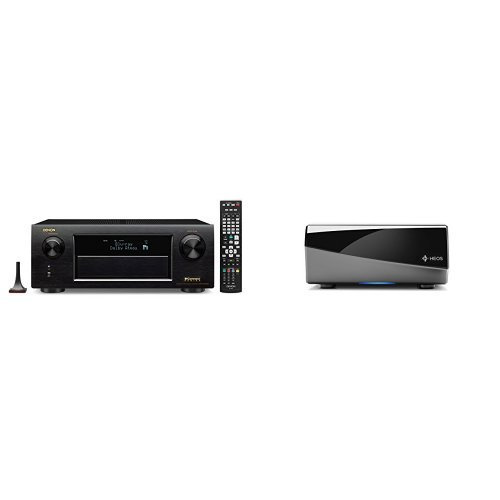 For Sale! Denon AVR-X5200W Receiver with HEOS Link Wireless Pre-Amplifier Bundle