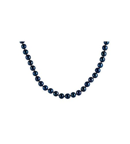 14k Gold Clasp Black Tahitian Cultured Pearl Necklace