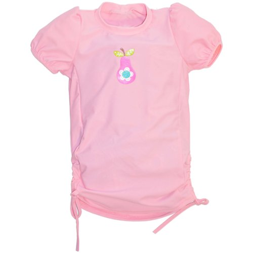 Splash About Kids Uv Sun Protection Rash Top (Pink Pear, 2-4 Years) front-1011269