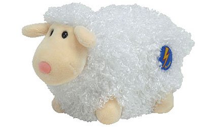 Ty Beanie Baby 2.0 Woolsy the Lamb [White]