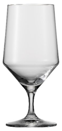 Schott Zwiesel Tritan Crystal Glass Stemware Pure Collection Water/Beverage All Purpose, 15-Ounce, Set of 6