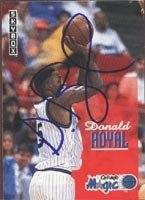 Donald Royal Orlando Magic 1993 Skybox Autographed Hand Signed Trading Card. by Hall+of+Fame+Memorabilia