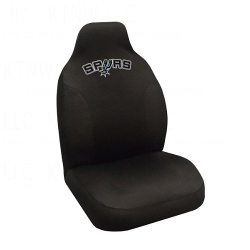 Fanmats Nba San Antonio Spurs Polyester Seat Cover front-1035713