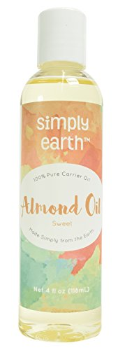 Simply Earth's 100% Pure Sweet Almond Oil - 4 oz (New Direction Products compare prices)