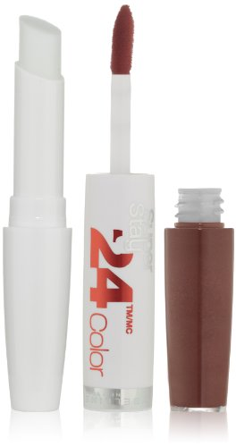 Maybelline New York Superstay 24, 2-Step Lipcolor, Constant Cocoa 145