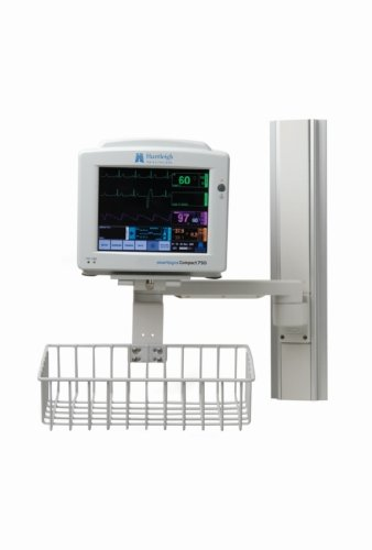 Huntleigh Smartsigns Compact 750-5 /REC Patient Monitor with Integrated Recorder ECG (5 Lead), Resp, SpO2, NiBP, Temp (Dual Channel), REC