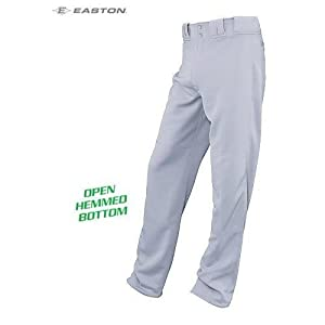 Buy Easton Baseball Softball Pants Open Hemmed Baggy Look Covering Socks to Cleats (Youth... by Easton/Bell Sports Authentic Sports Shop