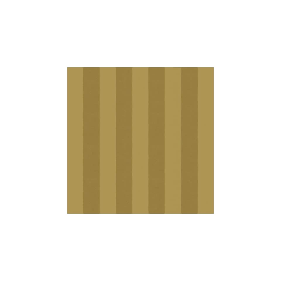 Caspari Ribbon Stripes 5 Foot Wrapping Paper Roll, Gold/Gold