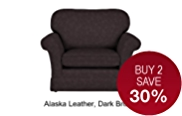 Evie Loveseat - Leather