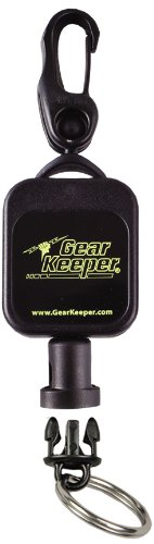 Gear Keeper RT5-5901 Micro Scuba Retractor Snap Clip Mount with Q/C Split Ring Accessory
