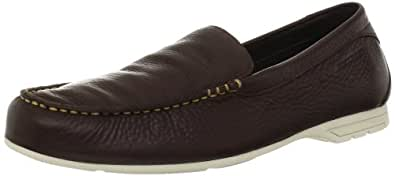 Rockport Men's Laguna Road Venetian Driving Shoe,Dark Brown,7 W US