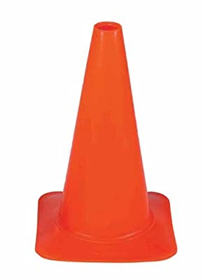 Cortina 03-500-42 18 Inch Fluorescent Orange Polyethylene Sport Cone