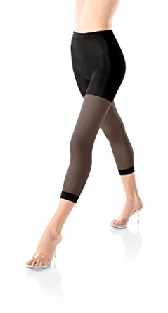Spanx Footless Super Control Size A Black