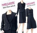 (マーガレット) ブラックフォーマル 喪服 礼服 アンサンブルワンピース「420」 7~15号