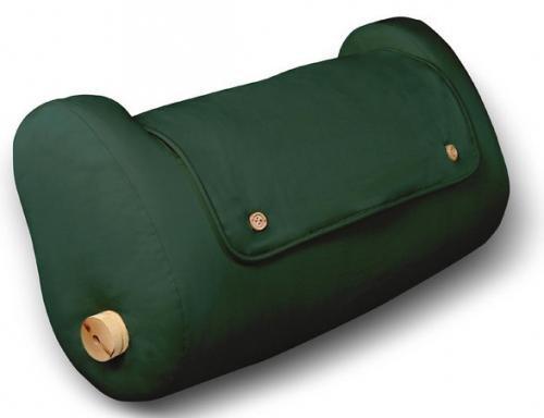 LegLounger (100 % Cotton Cover, Green Color)