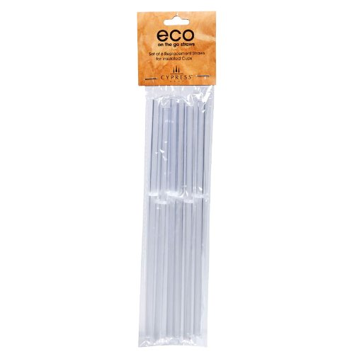 Peachy Kitchen Acrylic Straws, Set of 6 (Peachy Kitchen compare prices)