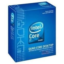 Intel i7-860 Quad Core Processor - 2.80 GHz, 8MB Cache, 2.5 GT/sec, Socket 1156, 45 nm, 3 Year Warranty, Retail Boxed