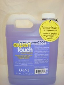 OPI Expert Touch Lacquer Remover, 32 Ounce