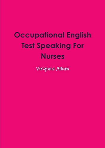 Occupational English Test Speaking For Nurses