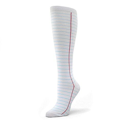 Knee High Notebook Socks (Womens)