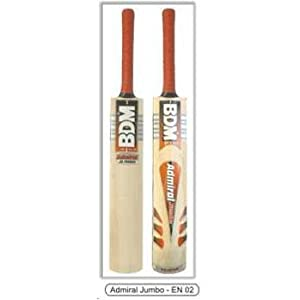 BDM Admiral Jumbo English Willow Bat