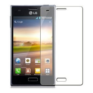 LG Optimus L5 Clear Screen Protector (Pack of 3)