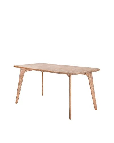 Gallerie Décor Vista Rectangle Table, Oak