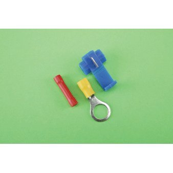 305 Piece Solderless Terminal Kit Color Coded; Comes with 8