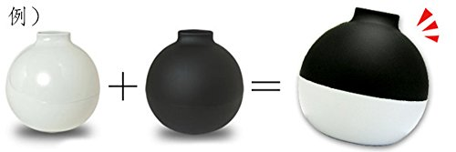サンメニー トイレットぺーパーポット 白磁 022001 石川樹脂工業