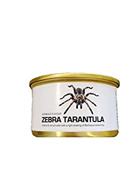 This can contains 1 edible dehydrated Zebra Tarantula. Ships quick from the United States.