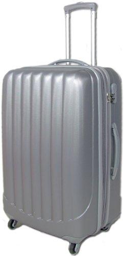 SILBER 360° Rollensystem Reisekoffer Koffer