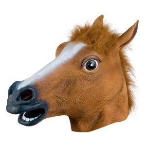 31CsY%2Bz4jzL Cheap  Accoutrements Horse Head Mask