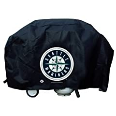Seattle Mariners Grill Cover Economy by Hall of Fame Memorabilia