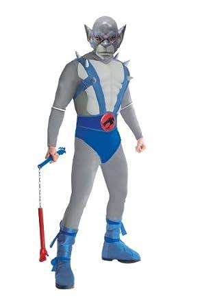 Thundercats Deluxe Panthro Costume, Blue, Standard