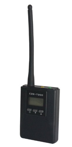 Signstek Czh-T200 0.2W Portable Stereo Fm Transmitter Power Long Broadcast Range Adjustable Frequency 87~108Mhz And 76~90Mhz (Optional)