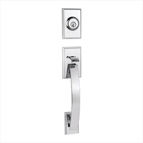 Kwikset 800Tvh Lip 26 Smt Rcal Rcs Tavarissingle Cylinder Handleset Less Interior Pack In Polished Chrome Feat Smartkey front-569611