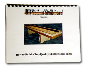 Table Shuffleboard Plans