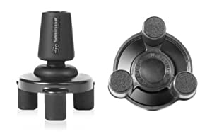Go Steady Patented Tripod Flexi-Tip for Walking Canes: Anti-Skid Water, Gravel and Sand Friendly (1 Unit) (8204603)