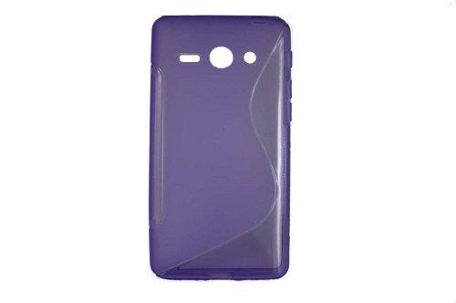 S-Linie TPU Schutz Flexible Tasche Schale für Huawei Ascend Y530 C8813 Lila