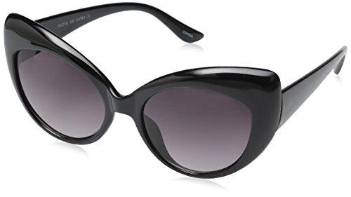 fdbcff89a4 zeroUV - High Pointed Vintage Mod Womens Fashion Cat Eye Sunglasses