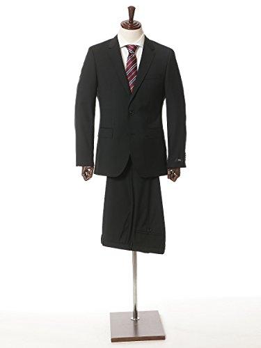 (ヒューゴ ボス) HUGO BOSS イタリア製「REDA」生地使用 シングル 2ツ釦 スーツ 10170948 ブラック / 50 [並行輸入品]